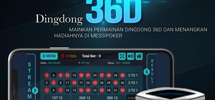 Situs Togel Dingdong Terpercaya 36D